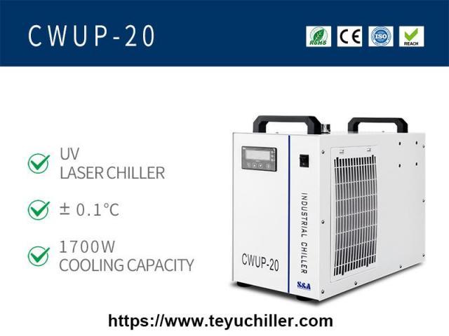 Resfriador de água a laser ultrarrápido CWUP-20 - 1/1